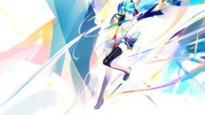 Rating: Safe Score: 35 Tags: hatsune_miku polychromatic vocaloid yyb User: FormX
