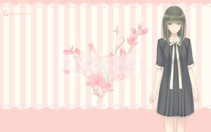 Rating: Safe Score: 77 Tags: black_hair dress flowers_(game) innocent_grey logo long_hair pink school_uniform sugina_miki takasaki_chidori User: Wiresetc