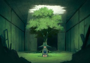 Rating: Safe Score: 207 Tags: grass green hat long_hair miso_pan moriya_suwako touhou tree User: Wiresetc