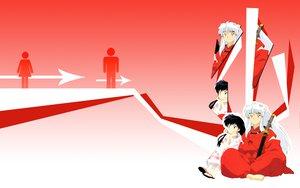 Rating: Safe Score: 9 Tags: higurashi_kagome inuyasha inuyasha_(character) User: sehwa