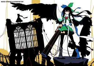 Rating: Safe Score: 30 Tags: catgirl ideolo kaenbyou_rin reiuji_utsuho silhouette touhou User: setone