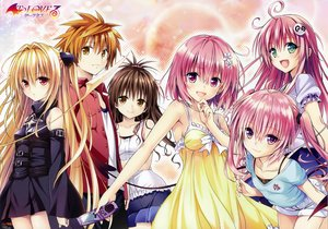 Rating: Safe Score: 245 Tags: blonde_hair brown_hair golden_darkness lala_satalin_deviluke loli long_hair momo_velia_deviluke nana_asta_deviluke orange_hair pink_hair scan to_love_ru yabuki_kentarou yuuki_mikan yuuki_rito User: kazuto