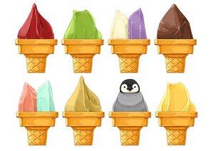 Rating: Safe Score: 8 Tags: animal food ice_cream lilac_(pfeasy) nobody original penguin waifu2x white User: otaku_emmy