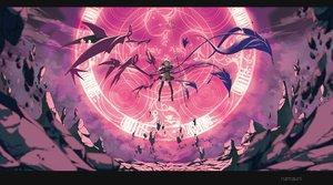 Rating: Safe Score: 141 Tags: aliasing houjuu_nue magic namauni spear thighhighs touhou weapon wings User: Flandre93