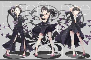 Rating: Safe Score: 89 Tags: a~chan black_hair dress kashiyuka nocchi perfume purple_eyes yoshito User: FormX
