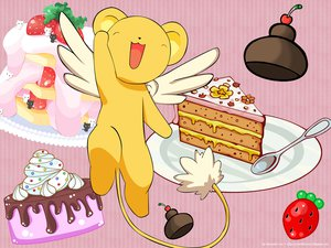Rating: Safe Score: 18 Tags: cake card_captor_sakura food kero User: 秀悟