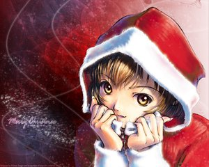 Rating: Safe Score: 17 Tags: christmas kobayashi_yuji User: Oyashiro-sama