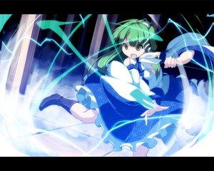 Rating: Safe Score: 19 Tags: asakura_masatoki boots dress green_hair japanese_clothes kochiya_sanae long_hair miko touhou yellow_eyes User: 秀悟
