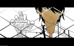 Rating: Safe Score: 15 Tags: all_male araragi_koyomi bakemonogatari black black_hair male monogatari_(series) short_hair tagme_(artist) watermark User: RyuZU