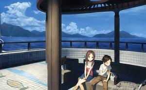 Rating: Safe Score: 53 Tags: blush brown_eyes brown_hair karakai_jouzu_no_takagi-san loli long_hair male nishikata_(karakai_jouzu_no_takagi-san) short_hair tagme takagi-san turu User: gnarf1975