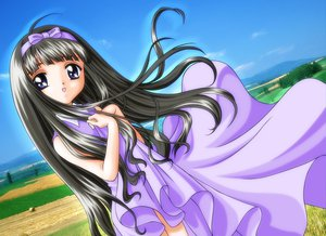 Rating: Safe Score: 15 Tags: card_captor_sakura daidouji_tomoyo dress long_hair User: Oyashiro-sama