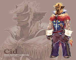 Rating: Safe Score: 3 Tags: all_male blonde_hair cid feathers final_fantasy final_fantasy_tactics_a2 gray_eyes horns male short_hair watermark zoom_layer User: Oyashiro-sama