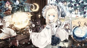 Rating: Safe Score: 36 Tags: blonde_hair blue_eyes book doll dress hat lolita_fashion long_hair ribbons sound_horizon tagme_(artist) tagme_(character) User: BattlequeenYume