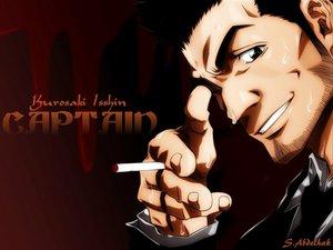 Rating: Safe Score: 9 Tags: all_male bleach cigarette close kurosaki_isshin male User: abdo1727