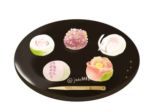 Rating: Safe Score: 45 Tags: animal candy cat food hakuchizu_(jedo) nobody original signed waifu2x User: otaku_emmy