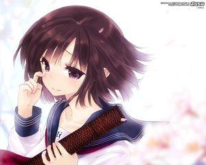 Rating: Safe Score: 68 Tags: blue_eyes brown_hair crying original school_uniform short_hair tears tsukigami_runa User: Animeticklesmytoes