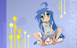 Rating: Safe Score: 17 Tags: cat_smile hiiragi_kagami izumi_konata lucky_star User: 秀悟