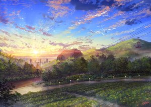 Rating: Safe Score: 41 Tags: building city clouds niko_p nobody original park scenic signed sky sunset tree User: RyuZU