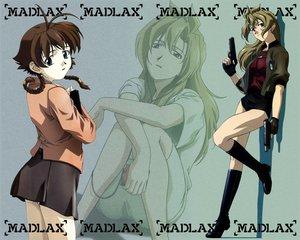 Rating: Safe Score: 18 Tags: gun madlax madlax_(character) margaret_burton weapon User: Oyashiro-sama