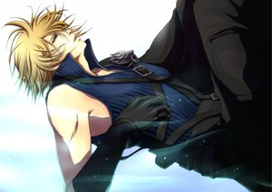 Rating: Safe Score: 50 Tags: cloud_strife final_fantasy final_fantasy_vii final_fantasy_vii_advent_children User: HawthorneKitty