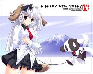 Rating: Safe Score: 9 Tags: animal_ears doggirl tagme tail User: Oyashiro-sama