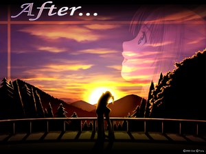Rating: Safe Score: 17 Tags: after hug landscape scenic shiomiya_kanami silhouette sunset taka_tony zoom_layer User: Oyashiro-sama