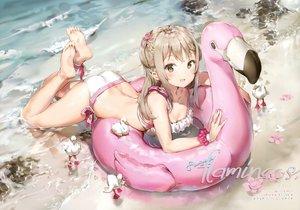 Rating: Safe Score: 387 Tags: animal anmi ass barefoot bikini bird braids breasts cleavage original scan swim_ring swimsuit water wet wristwear User: RyuZU