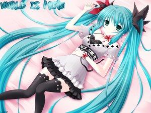 Rating: Safe Score: 64 Tags: hatsune_miku twintails vocaloid world_is_mine_(vocaloid) User: HawthorneKitty