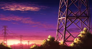 Rating: Safe Score: 50 Tags: clouds nobody original scenic sky sunset tagme_(artist) User: RyuZU