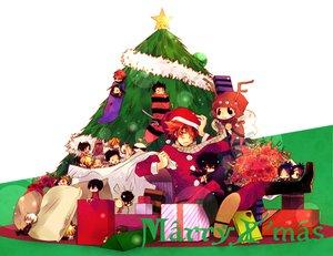 Rating: Safe Score: 28 Tags: christmas cosplay dokuro_chrome fon giotto gokudera_hayato hibari_kyouya i-pin katekyou_hitman_reborn lambo male reborn rokudou_mukuro sasagawa_ryohei sawada_tsunayoshi yamamoto_takeshi User: HawthorneKitty