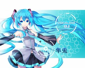 Rating: Safe Score: 97 Tags: aqua_eyes aqua_hair hatsune_miku long_hair vocaloid yuuki_kira User: humanpinka