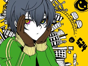 Rating: Safe Score: 56 Tags: all_male bicolored_eyes ciel_phantomhive city kuroshitsuji male matryoshka_(vocaloid) parody User: Katsumi