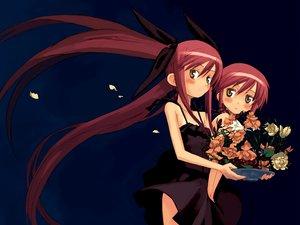 Rating: Safe Score: 24 Tags: flowers jpeg_artifacts kousaka_alice kousaka_maria kuroboshi_kouhaku suigetsu twins User: Oyashiro-sama