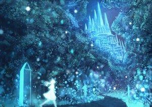 Rating: Safe Score: 104 Tags: bou_nin building night original silhouette sky tree User: FormX