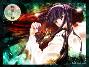 Rating: Safe Score: 12 Tags: carnelian kao_no_nai_tsuki kawakabe_momoka long_hair red_eyes touka_gettan User: Oyashiro-sama