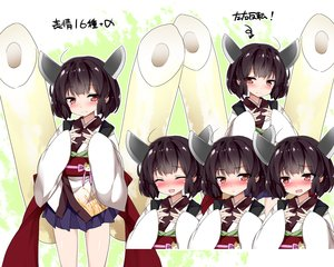 Rating: Safe Score: 42 Tags: black_hair blush food japanese_clothes loli mtu red_eyes short_hair skirt touhoku_kiritan translation_request voiceroid yukata User: otaku_emmy