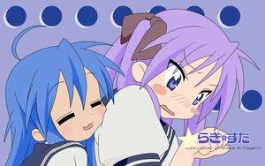 Rating: Safe Score: 18 Tags: blush hiiragi_kagami izumi_konata lucky_star User: 秀悟