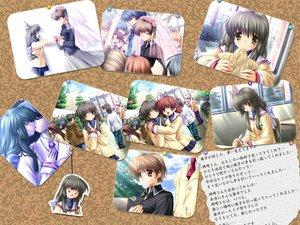 Rating: Safe Score: 19 Tags: clannad furukawa_nagisa ibuki_fuuko ibuki_kouko User: Oyashiro-sama