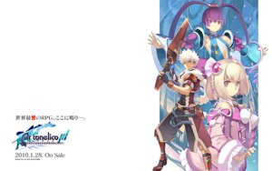 Rating: Safe Score: 18 Tags: aoto_(ar_tonelico) ar_tonelico ar_tonelico_iii armor blonde_hair blue_eyes bow finnel gust_(company) long_hair nagi_ryou pink_eyes purple_eyes purple_hair saki_(ar_tonelico) short_hair twintails weapon white_hair User: Tacubus