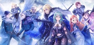 Rating: Safe Score: 31 Tags: annette_fantine_dominic armor ashe_ubert blonde_hair blue_eyes blue_hair bow_(weapon) byleth_(female) cape dedue_molinaro dimitri_alexandre_blaiddyd dress eyepatch felix_hugo_fraldarius fire_emblem garter_belt gloves green_eyes green_hair group hat ingrid_brandol_galatea long_hair male mercedes_von_martritz navel pantyhose purple_eyes red_eyes short_hair shorts snow sword sylvain_jose_gautier weapon white_hair wings winter yamyom User: BattlequeenYume