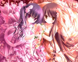 Rating: Safe Score: 203 Tags: 2girls dress flowers loli long_hair necklace original tinkerbell tinkle User: Wiresetc