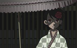 Rating: Safe Score: 19 Tags: dark flowers fuura_kafuka japanese_clothes kimono sayonara_zetsubou_sensei umbrella vector User: lovekuja