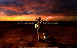 Rating: Safe Score: 49 Tags: cowboy_bebop edward_wong_hau_pepelu_tivrusky_iv ein_(cowboy_bebop) landscape scenic sky stars User: Maboroshi
