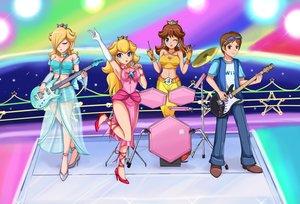Rating: Safe Score: 41 Tags: fang group male original princess_daisy princess_peach rosalina sigurdhosenfeld super_mario User: mattiasc02