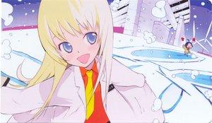 Rating: Safe Score: 15 Tags: blonde_hair blue_eyes building katagiri_himeko long_hair okama pani_poni_dash rebecca_miyamoto tie windmill User: Oyashiro-sama