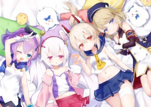 Rating: Safe Score: 37 Tags: animal anthropomorphism ayanami_(azur_lane) azur_lane bird blonde_hair blue_eyes group javelin_(azur_lane) koko_ne laffey_(azur_lane) loli long_hair navel orange_eyes pink_eyes purple_hair short_hair white_hair z23_(azur_lane) User: sadodere-chan