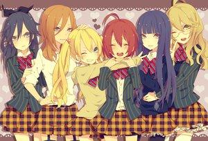 Rating: Safe Score: 48 Tags: genderswap group school_uniform uta_no_prince-sama utaoka_(23com) User: Wiresetc