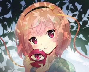 Rating: Safe Score: 33 Tags: blush close headband japanese_clothes kimono komeiji_satori leaves pink_eyes pink_hair shanghaidoll_(artist) short_hair touhou User: otaku_emmy