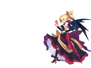 Rating: Safe Score: 19 Tags: demon disgaea_2 gun pointed_ears rozalind weapon white User: Oyashiro-sama