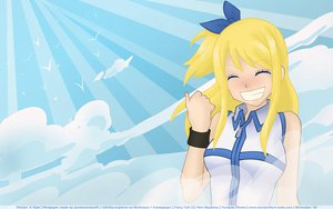 Rating: Safe Score: 15 Tags: animal bird blonde_hair bow clouds fairy_tail long_hair lucy_heartfilia sky User: Maboroshi